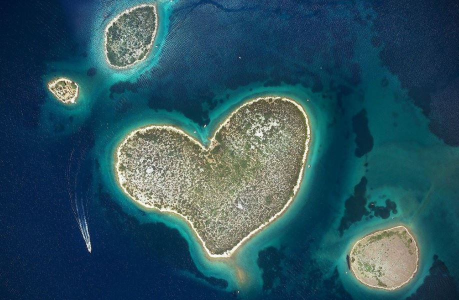 The Heart-shaped Island Galesnjak