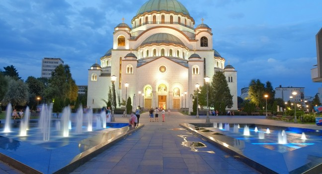 Serbia St Sava Cathedral