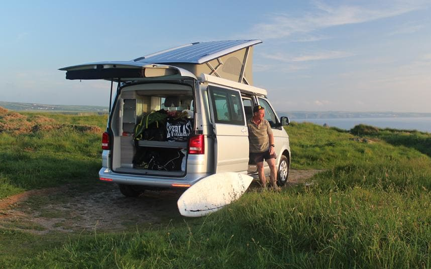 Best Places To Take Your Campervan In The UK [Infographic]
